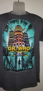 Dr Who and the Daleks TShirt Lg